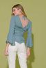 MTKBL9279-BLUSA LISA VERDE